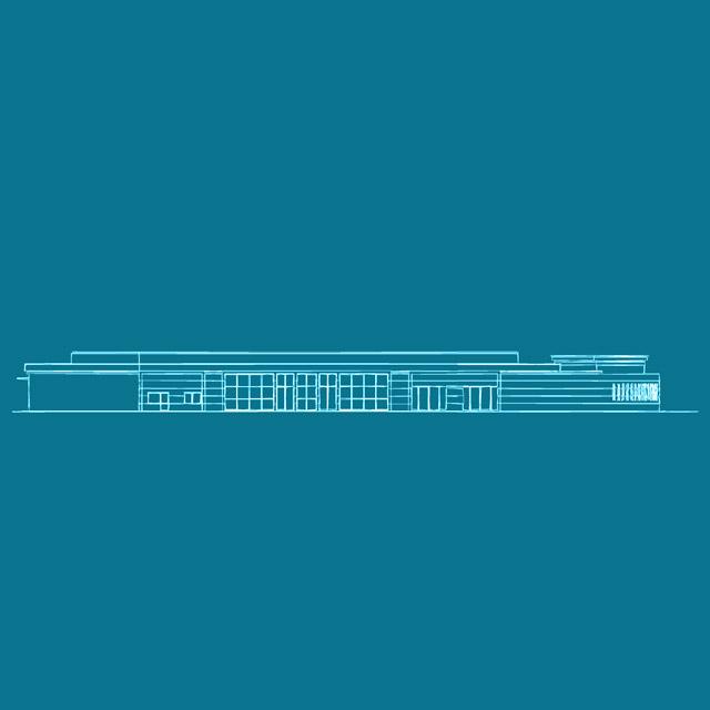 Progetto completo di piantina dello Studio Tecnico Geometra Bologna Loreti per la realizzazione di una funeral house in Zona Lame