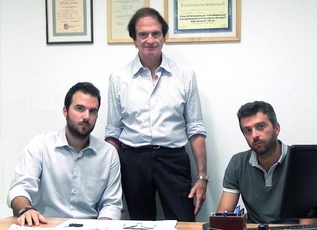 Immagine dei titolari Studio Tecnico Loreti di Bologna: Geometra Giovanni Loreti, Geometra Giuseppe Loreti, Ingegnere Lorenzo Loreti